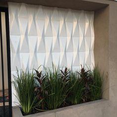 Gypsum Design, Interior And Exterior, Interior Design, Wall Cladding, Futuristic Architecture, 3d Wall, Home Hacks, Backyard Patio, Facade