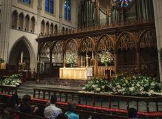 episcopal church traditions | St. Martin's Episcopal Church | Easter Altar Flowers