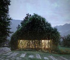 Diseñado por la firma italiana Act Romegialli Arquitectos y con la colaboración del paisajista Gheo Clavarino, el proyecto Green Box se eleva como la renovación de un pequeño garaje en desuso, para transformarse en una casa de fin de semana situada en las laderas de los Alpes Raethian. #arquitectura y #eficienciaenergetica