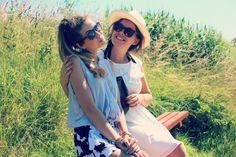 Zoella and Tanya
