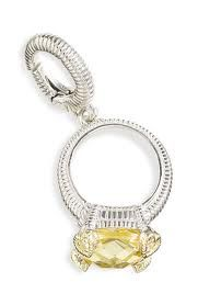 Lola ring charm from Bloomies