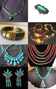 Bohemian Gifts for that Boho Girl on Your List from the Vintage Jewelry Team by Bruce on Etsy--Pinned with TreasuryPin.com