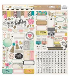 Crate Paper Maggie Holmes Confetti Journaling