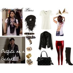 """""""Outfits on a Budget- PLL Aria Montgomery"""" by oliviairene14 on Polyvore"""