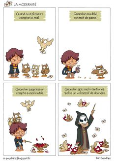 À Poudlard - Blog BD Harry Potter: La modernité                                                                                                                                                     Plus
