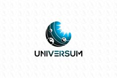 Universum - $250 (negotiable) http://www.stronglogos.com/product/universum #logo #design #sale #universe #space #planets #sun #solar #system #planetarium #club