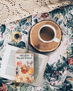 Cozy up with some coffee and a good book!