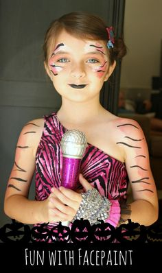 Take Dress-Up Up A Notch: Fun WIth Facepaint