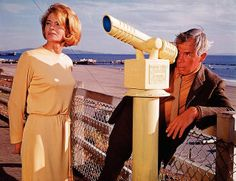 """Lee Marvin, Angie Dickenson in """"Point Blank"""" (1968) at SM"""
