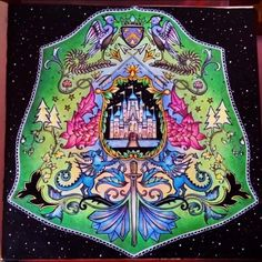 Coat of arms enchanted forest by Roberta Fontana