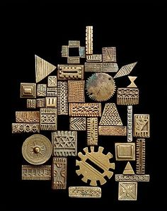 Akan Gold-Weights, Ghana and Ivory Coast, Brass