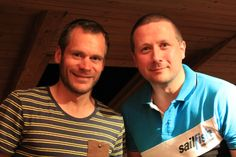 """Marco trifft den Triathlonprofi und Coach des teamTBB Germany - Jo """"The Rocket"""" Spindler. Toller Typ, tolles Gespräch ;)"""