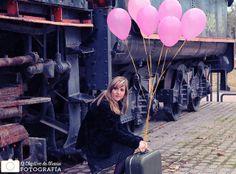 Retrarto de Laura, cumpleaños. Tren | Flickr: Intercambio de fotos