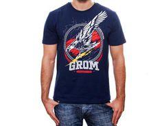 Koszulka GROM Granatowa