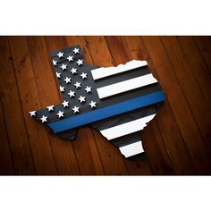 Thin Blue Line Wood Flag Thin Blue Line Flag Thin Blue Line Police... ($175) ❤ liked on Polyvore featuring home, home decor, wall art, black, home & living, home décor, wall décor, wall hangings, wooden wall art and wooden home decor