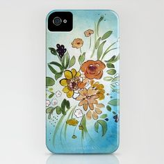 New iPhone case from Christine Lindstrom available on Society6