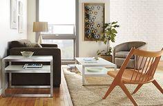 Oskar Lounge Chair - Modern Accent & Lounge Chairs - Modern Living Room Furniture - Room & Board