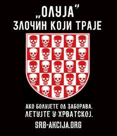 """""""Олуја"""" – злочин који траје. Ако болујете од заборава, летујте у Хрватској."""