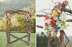 Конечно, перебор, но что-то в этом есть:) country wedding