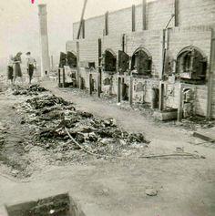 crematorium at Majdanek concentration camp | Death at Majdanek