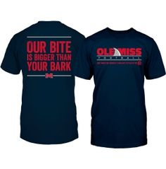 All Conference Men's Ole Miss Rebels Blue 'Land Shark' Football T-Shirt | DICK'S Sporting Goods