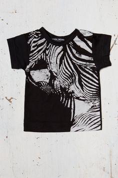 ZEBRA Baby tshirt with zebra print and solid by VanessaMooreBaby, $36.00