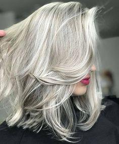 Salt and pepper gray hair. Grey hair. Silver hair. White hair. don't care. No dye. Dye free. Natural highlights. Gray hair don't care.
