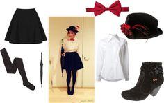 DIY Mary Poppins Halloween Costume