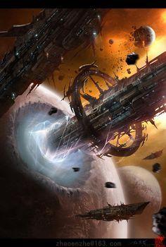 Image result for deviantart space mining