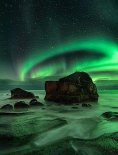 Aurora ; Uttakleiv,Norway