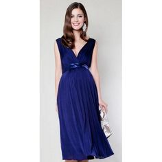 Wholesale Maternity Bridesmaid - Buy Short Royal Blue Maternity Bridesmaid Dresses Patterns A Line V Neck Chiffon Knee Length Wedding Party Maternity Bridesmaid Dresses, $108.38 | DHgate.com