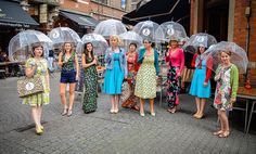 Rainy days won't stop us! Lovely ladies en girls showing off our favorite dresses during the Leuve Mama Fashionshow 2015. @HIPPO! Royale