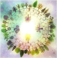 Como os prometi aqui teneis el horoscopo celta basado en el Ogham y en los árboles que veneraban este ancestral pueblo. Como me es imp...