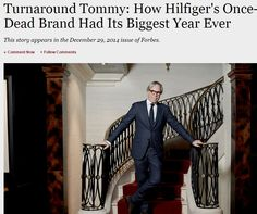 Turnaround Tommy: How Hilfiger's Once-Dead Brand Had Its Biggest Year Ever Brand Management, Fashion Brand, Tommy Hilfiger, American, Big, Fashion Branding, Branding