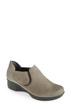Dansko 'Lynn' Loafer leather black nubuck taupe 1.5h sz38 149.95