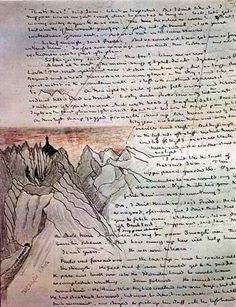 File:J. Tolkien - Shelob's Lair (and manuscript). Jrr Tolkien, Tolkien Books, Tolkien Quotes, Bilbo Baggins, Thorin Oakenshield, Sherlock Quotes, Sherlock Holmes, Sherlock John, Fili And Kili