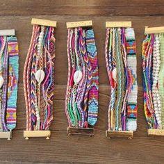 HIPANEMA Amazing bracelets...at crystalcovecollective.com.au