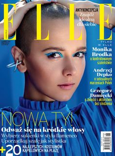 Monika Brodka by Zuza Krajewska for Elle Poland June 2017 cover