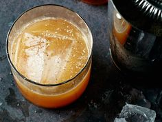 Rock 'n' Rolla - Really it's just a bourbon sour with a little flourish of spice and apple. http://www.foodandwine.com/recipes/rock-n-rolla