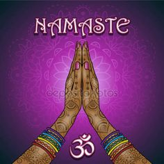 Find namaste hands stock images in HD and millions of other royalty-free stock photos, illustrations and vectors in the Shutterstock collection. Yoga Studio Design, Meditation Art, Yoga Art, Namaste Art, Chakra Art, Yoga Mantras, Psy Art, Cute Memes, Yoga For Kids