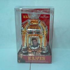 ORNAMENT GLASS ELVIS JUKEBOX SUN RECORDS 5' : TMI Gifts Web Store