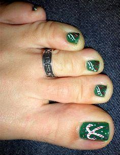 Beautiful Toes Nail Designs 2014 Tips