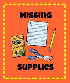 If you asked any teacher to list his/her top 10 frustrations with delivering instruction that teacher would probably say students not having needed supplies at the top of the list. Classroom Organisation, Classroom Supplies, Teacher Organization, Classroom Management, Organizing, Fun Classroom Activities, Kindergarten Classroom, School Classroom, Classroom Ideas