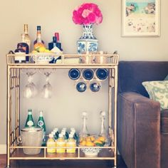 "It's live! Head to @REDBOOK Magazine .com to for ""A Newer, Way Cooler Home Bar..."" featuring the #SocietySocial Sedgewick #barcart!!! p.s. I am both sad and excited to announce that all my bar cart babes except for the Hayworth who is still ready to partayy sold out during the holidays! Email contact@shopsocietysocial.com to join the waitlist for Feb 2014. Cin cin! #Padgram"