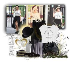 """Perrie Edwards"" by luciana-dr ❤ liked on Polyvore featuring me you, Oscar de la Renta, Oasis, LK Designs, Uniqlo and Vans"