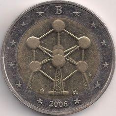 Motivseite: Münze-Europa-Westeuropa-Belgien-Euro-2.00-2006-Atomium