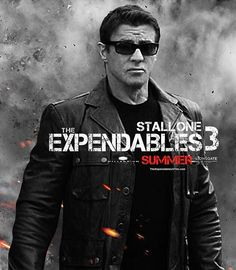Sylvester Stallone Expendables 3. Can't wait for this one!!