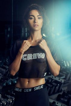 Adrianne Ho Works it Out for Her Sweat Crew Collection ⋆ Myjestik