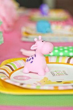 Safari Princess Birthday Party | CatchMyParty.com