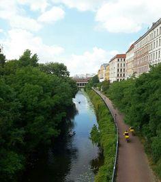 Sommer am Karl-Heine-Kanal in #Leipzig #Plagwitz